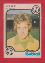 Norwich City Mick McGuire